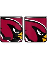 Arizona Cardinals Large Logo Galaxy Z Flip Skin