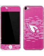 Arizona Cardinals Pink Blast Apple iPod Skin