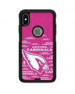 Arizona Cardinals Pink Blast Otterbox Commuter iPhone Skin