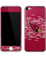 Arizona Cardinals Red Blast Apple iPod Skin