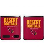 Arizona Cardinals Team Motto Galaxy Z Flip Skin