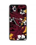 Arizona Cardinals Tropical Print iPhone 11 Pro Max Skin