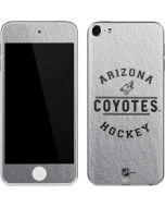 Arizona Coyotes Black Text Apple iPod Skin