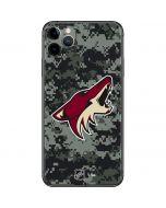 Arizona Coyotes Camo iPhone 11 Pro Max Skin