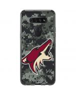Arizona Coyotes Camo LG K51/Q51 Clear Case