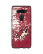 Arizona Coyotes Frozen LG K51/Q51 Clear Case