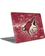 Arizona Coyotes Frozen Apple MacBook Air Skin
