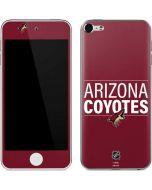 Arizona Coyotes Lineup Apple iPod Skin
