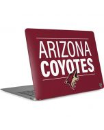 Arizona Coyotes Lineup Apple MacBook Air Skin