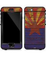 Arizona Flag Dark Wood LifeProof Nuud iPhone Skin