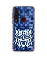 Arizona Wildcat Digi Moto G8 Plus Clear Case