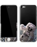 Artists Concept of an Astronaut Floating in Outer Space Apple iPod Skin