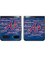 Atlanta Braves - Cap Logo Blast Galaxy Z Flip Skin