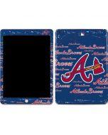 Atlanta Braves - Cap Logo Blast Apple iPad Skin