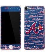 Atlanta Braves - Cap Logo Blast Apple iPod Skin