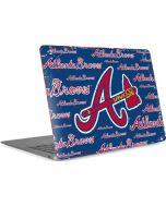 Atlanta Braves - Cap Logo Blast Apple MacBook Air Skin