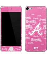 Atlanta Braves - Pink Cap Logo Blast Apple iPod Skin