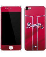 Atlanta Braves Alternate/Away Jersey Apple iPod Skin