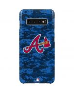 Atlanta Braves Digi Camo Galaxy S10 Plus Lite Case