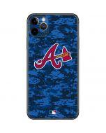 Atlanta Braves Digi Camo iPhone 11 Pro Max Skin