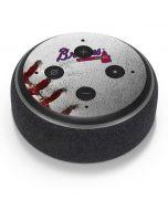 Atlanta Braves Game Ball Amazon Echo Dot Skin