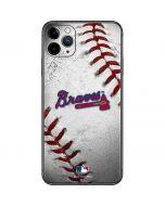 Atlanta Braves Game Ball iPhone 11 Pro Max Skin