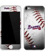 Atlanta Braves Game Ball Apple iPod Skin