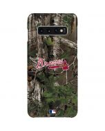 Atlanta Braves Realtree Xtra Green Camo Galaxy S10 Plus Lite Case