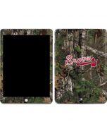 Atlanta Braves Realtree Xtra Green Camo Apple iPad Skin