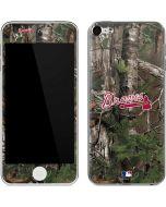Atlanta Braves Realtree Xtra Green Camo Apple iPod Skin