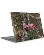 Atlanta Braves Realtree Xtra Green Camo Apple MacBook Air Skin