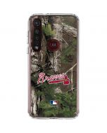 Atlanta Braves Realtree Xtra Green Camo Moto G8 Plus Clear Case