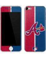 Atlanta Braves Split Apple iPod Skin