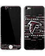 Atlanta Falcons Black Blast Apple iPod Skin