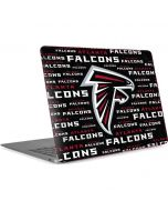 Atlanta Falcons Black Blast Apple MacBook Air Skin