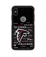 Atlanta Falcons Black Blast Otterbox Commuter iPhone Skin