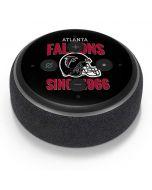 Atlanta Falcons Helmet Amazon Echo Dot Skin
