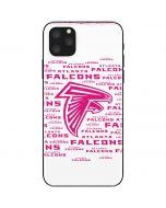 Atlanta Falcons Pink Blast iPhone 11 Pro Max Skin