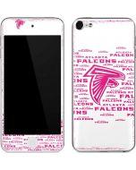 Atlanta Falcons Pink Blast Apple iPod Skin