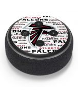 Atlanta Falcons White Blast Amazon Echo Dot Skin