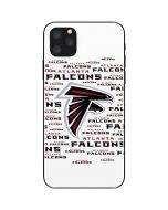 Atlanta Falcons White Blast iPhone 11 Pro Max Skin