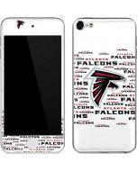 Atlanta Falcons White Blast Apple iPod Skin