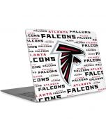 Atlanta Falcons White Blast Apple MacBook Air Skin