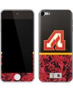 Atlanta Flames Retro Tropical Print Apple iPod Skin
