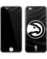 Atlanta Hawks Black Animal Print Apple iPod Skin