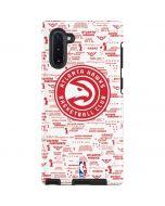 Atlanta Hawks Blast Galaxy Note 10 Pro Case