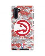 Atlanta Hawks Digi Camo Galaxy Note 10 Pro Case
