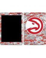 Atlanta Hawks Digi Camo Apple iPad Skin