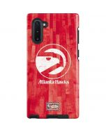 Atlanta Hawks Hardwood Classics Galaxy Note 10 Pro Case