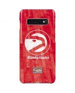 Atlanta Hawks Hardwood Classics Galaxy S10 Plus Lite Case